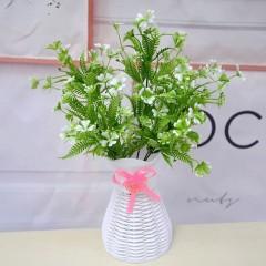 Букет зелени кувшинка - белая