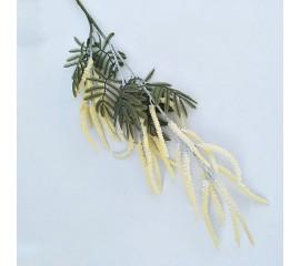 Ветка вереск 70 см - желтый