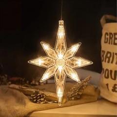"""LED подвеска с присоской """"Рождественская звезда"""""""