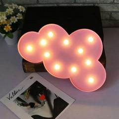 """Светодиодный ночник """"Облако"""" - розовое"""