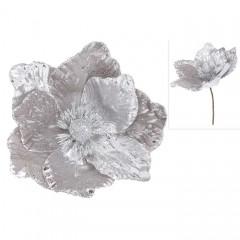 Головка магнолии серебристо-серая 24 см
