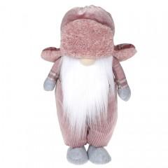 """Мягкая игрушка """"Гном в розовой шапке"""" 43 см"""