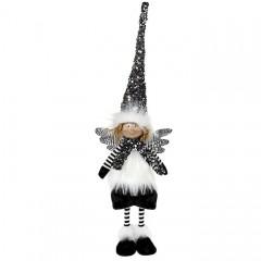 """Кукла """"Мальчик - ангел в черном колпаке"""" 60 см"""