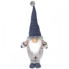"""Мягкая игрушка """"Гном в синей шапке"""" 52 см"""