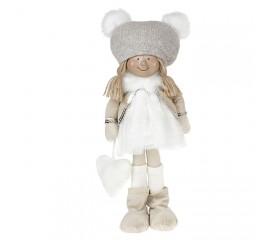 """Кукла """"Девочка в белом платье"""" 35 см"""