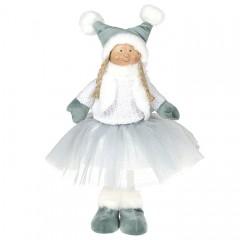 Кукла в мятной юбке 38 см