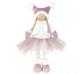 Кукла в розовой юбке 38 см