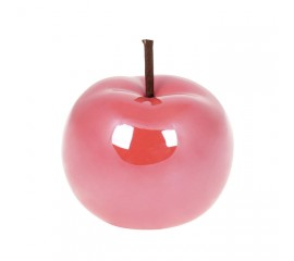 Декоративное яблоко розовое 9,7 см