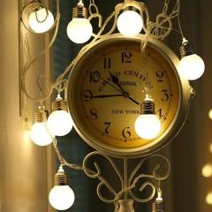 """Led гирлянда """"Лампочки матовые (4,5 см)"""" 35 ламп, 5 м, usb, с пультом ДУ, 8 режимов"""