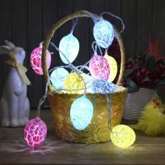 """Гирлянда """"Яйца кракелюр"""" 10 ламп 1,5 м"""