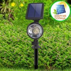 Прожектор з датчиком руху на сонячній батареї 7LED, білий