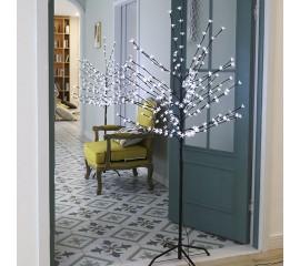 """Светодиодное дерево """"Сакура"""" 150 см, 200 светодиодов - холодный белый, 24V"""