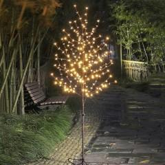 """Светодиодное дерево """"Сакура"""" 150 см, 200 светодиодов - теплый белый, 24V"""