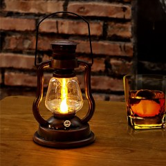 """Светодиодный светильник """"Керосиновая лампа"""", на батарейках"""