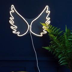 """Светодиодный декор """"Неоновые крылья"""", 35х45 см."""