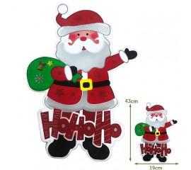 """Светодиодная подвеска """"Санта"""", 43 см."""