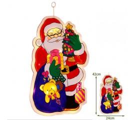 """Светодиодная подвеска """"Дед мороз"""", 42 см."""