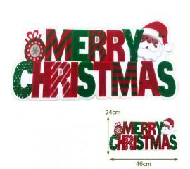 """Светодиодная подвеска """"Merry Christmas"""", 46 х 24 см."""