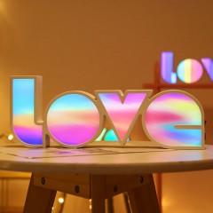 "Светодиодный декор ""LOVE"", на батарейках / usb"