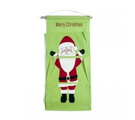 """Панно с карманами """"Санта"""""""