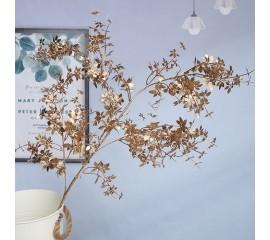 Ветка мелколист золото 100 см