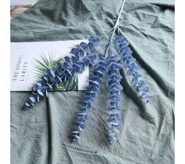 Ветка эвкалипт синяя 80 см