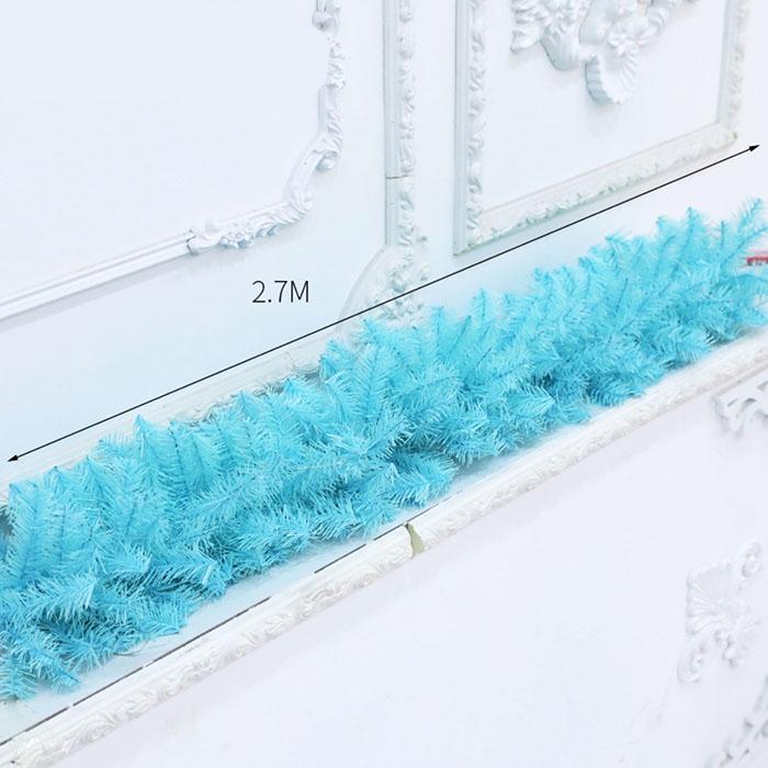 Гирлянда голубая 2,7 м