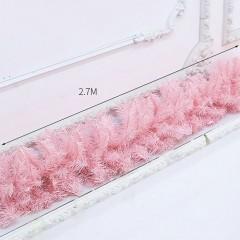 Гирлянда розовая 2,7 м