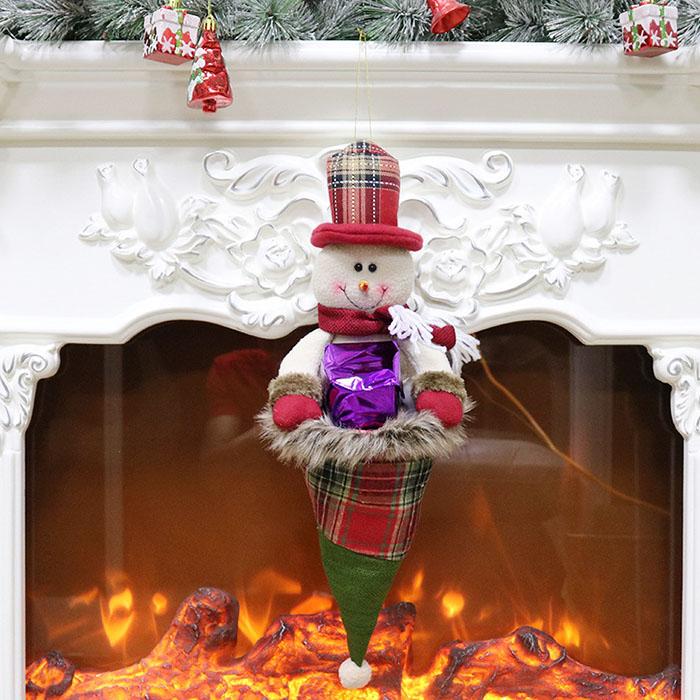 "Колпак для подарков ""Снеговик"""