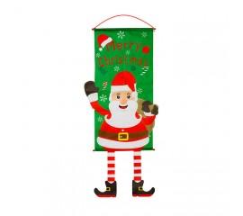 """Панно """"Merry Christmas"""" Санта"""