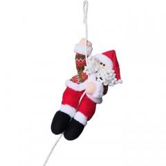 """Игрушка """"Санта на веревке"""" 22 см"""