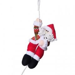 """Игрушка """"Санта на веревке"""" 36 см"""
