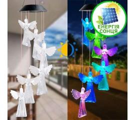 """Светодиодный декор """"6 ангелов"""", на солнечной батарее, RGB"""