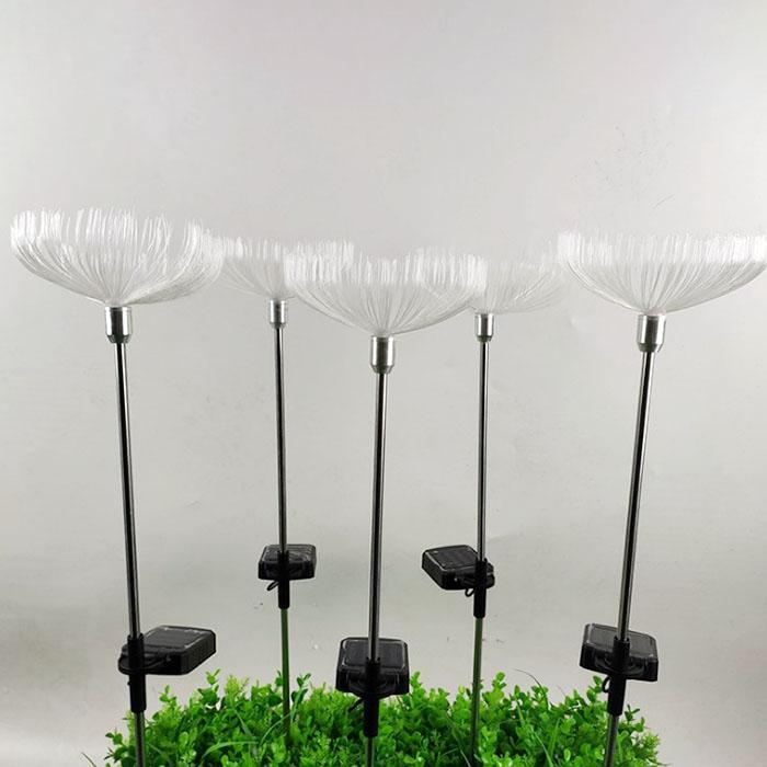 """Газонный декор """"Светодиодный цветок"""", на солнечной батарее, RGB"""