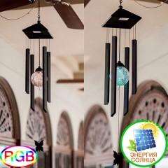 """Светодиодный декор """"Музыка ветра"""", на солнечной батарее, RGB"""