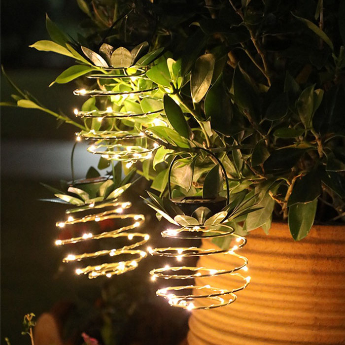"Декор с подсветкой ""Ананас"", на солнечной батарее"