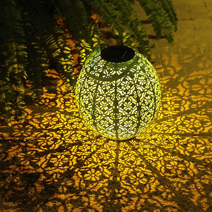 "Декоративный светильник ""Шар Тиффани"", на солнечной батарее"