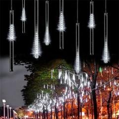 """Светодиодная гирлянда """"Метеоритный дождь"""", белый свет"""