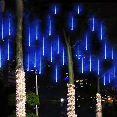 """Світлодіодна гірлянда """"Метеоритний дощ"""", блакитне світло"""