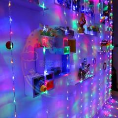 """Штора """"Водоспад"""", 3 х 2 м, 240 світлодіодів, кольоровий"""