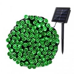 """Солнечная гирлянда """"Стринг"""" 200 светодиодов, 22 м, зеленый"""