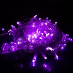 """Світлодіодна гірлянда """"Стрінг"""" 300 led, 30 м, 8 режимів, фіолетовий"""