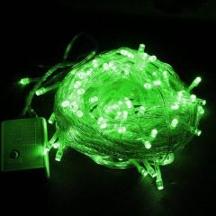 """Светодиодная гирлянда """"Стринг"""" 200 led, 20 м, 8 режимов, зеленая"""