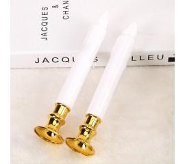 Комплект з 2-х світлодіодних свічок, 19 см, з батарейками