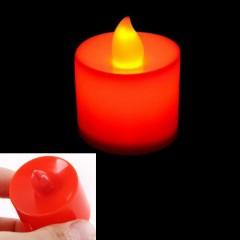 """Світлодіодна свічка """"Чайна"""", 4,5 см., червона"""