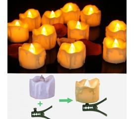 Набор из 9-ти светодиодных свечей на елку
