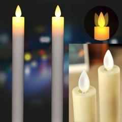 Дві світлодіодні свічки з ефектом палаючого вогника