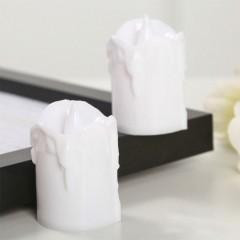 Світлодіодна свічка, 5,5 см, біла