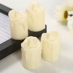 Світлодіодна свічка, 5,5 см, кремова