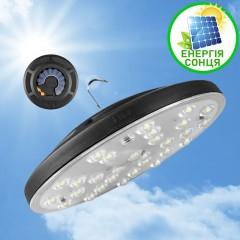 Автономна лампа на сонячній батареї. Зарядка сонячною енергією або USB